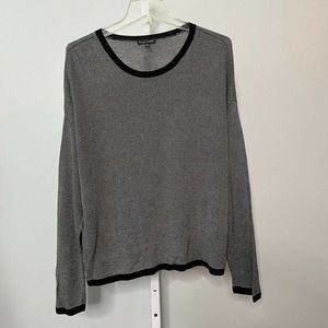Eileen Fisher Lyocell Thin Knit Boxy Sweater